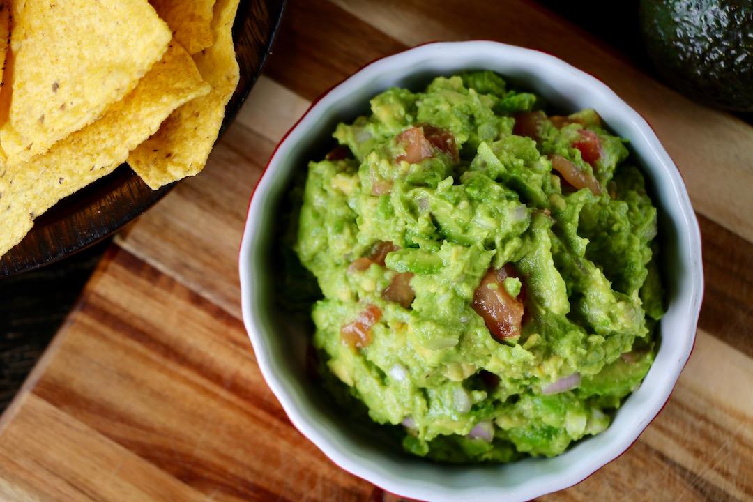 vegan guacamole
