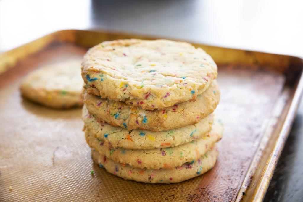 Biscuits arc-en-ciel