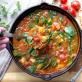 Soupe repas épicée aux lentilles